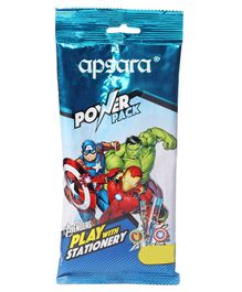 Apsara Avenger Stationery Set Pack of 11 - Blue