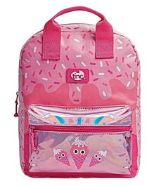 Tinc Junior Backpack Ice Cream Print Pink - 13 Inches