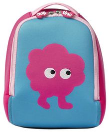 Tincs Character Design Backpack Pink Blue - 11 Inches
