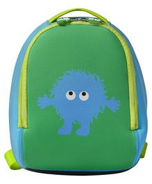Tinc Backpack With Cartoon Print Green - 10 Inches