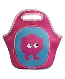 Tinc Lunch Box Bag With Cute Cartoon Design - Pink