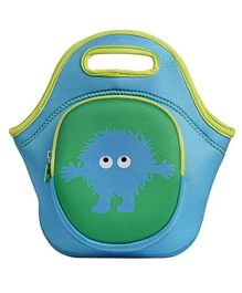 Tinc Lunch Box Bag With Cute Cartoon Design - Green
