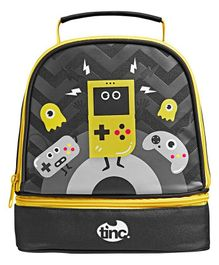 Tinc Gaming Design Lunch Bag - Black