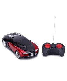 Battery Operated Remote Control Toy Car - Black & Red