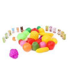 IToys Vegetable & Fruits Set Multicolor - 40 Pieces