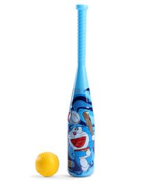 Doraemon Baseball Bat & Ball Set - Blue