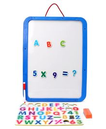 Doraemon 4 in 1 Magnetic Board With Marker & Duster - Blue