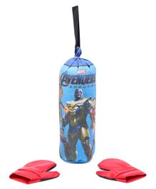 Avengers Boxing Set With Gloves - Blue