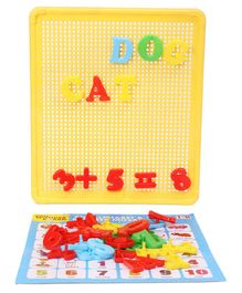 IToys Edu Wonder Mosaic Number Board Game Multicolor - 42 Pieces