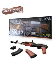 NHR AK47 Toy Gun With Laser Light - Brown