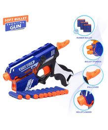 NHR Blaze Storm Foam Blaster Gun With Foam Bullets - Blue