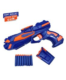 NHR Foam Blaster Gun With Bullets - Blue