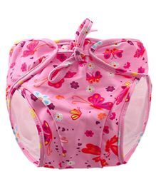 Kookie Kids Swim Diaper Butterfly Print - Pink