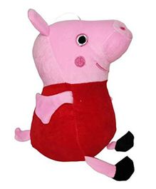 JDM Peppa Pig Soft Toy Pink Red - Height 30 cm