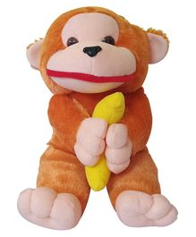 JDM Monkey Soft Toy Orange - Height 40 cm