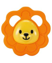 Winfun Safari Lion Teether - Yellow Orange