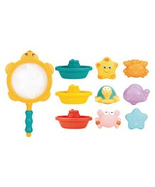 Syga Bath Toys Set of 10 - Multicolor