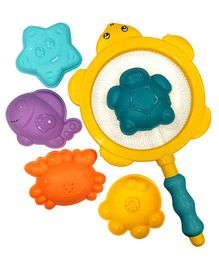 Syga Bath Toys Set of 6 - Multicolor