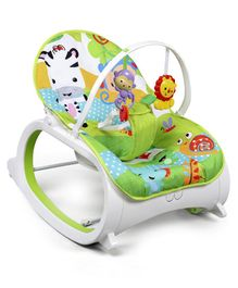 Baby Rocker with Calming Vibration - Green