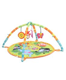Winfun Jungle Pals Playmat With Arches & Toys - Multicolor