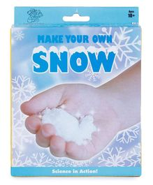 Webby Smart Education Science Kit Make Your Own Snow - White