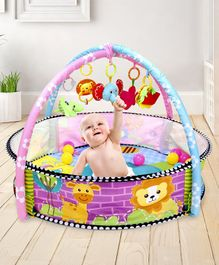 Baby Play Gym with Balls Animal Print - Multicolor