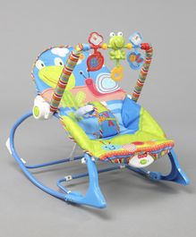 Battery Operated Musical & Portable Baby Rocker - Multicolor