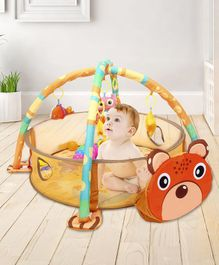 Baby Play Gym with Balls Animal Patch - Multicolor