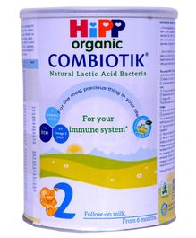 Hipp Organic Combiotic 2 Follow on Milk - 900 gm