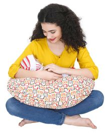 Nene Nursing Pillow Geometric Print - Multicolor