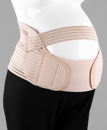 Babyhug Large Size Pre & Post Maternity Corset Belt - Beige