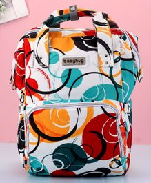 Babyhug Diaper Bag Circular Print - Multicolor