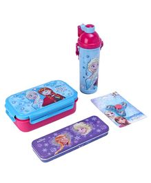 Disney Frozen School Kit Blue Red Purple - Pack Of 4