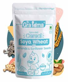 ByGrandma Baby Food Porridge Mix With Rice, Sprouted Wheat & Gram - 280 g