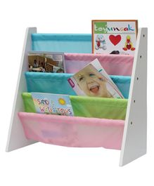 Babycenter India Book Rack With 5 Shelves - Multicolor