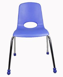 Babycenter India Stack Chair With Chrome Legs - Blue