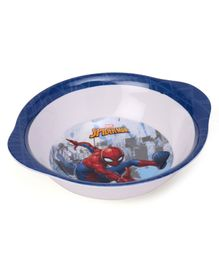 Marvel Bowl With Handle Spider Man Print - Blue White
