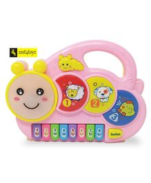 Zest 4 Toyz Cute Design Musical Piano Musical Toy (Color May Vary)
