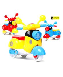 Zest 4 Toyz Friction Powered Vehicles Toys - Pack of 3 (Colour May Vary)