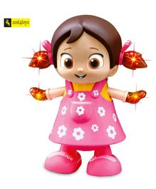 Zest 4 Toyz Musical Dancing Doll With Lights - Pink