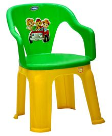 Prima Dual Colour Chair - Green Yellow