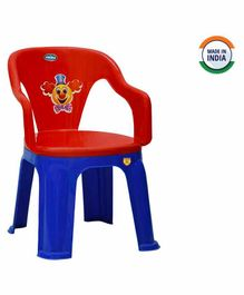 Prima Dual Colour Chair - Red Royal Blue