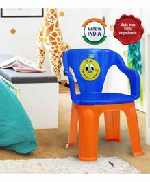 Prima Dual Colour Chair - Blue Orange