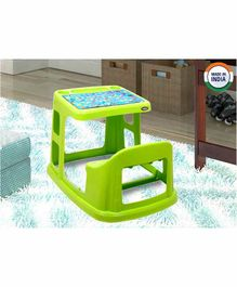 Prima Study Table With Cup Holder - Green