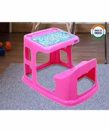 Prima Study Table With Cup Holder - Pink