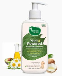 Mother Sparsh Plant Powered Natural  Baby Wash - 200 ml