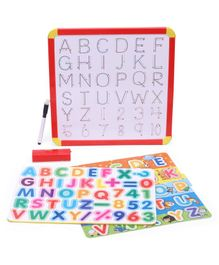 Itoys 4 In 1 Magnetic Slate With Marker - Multicolor