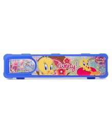 Tweety Multipurpose Pencil Box For Kids - BLUE