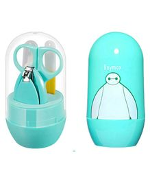 My Newborn Pocket Size Baby Nail Care Grooming Set - Sea Green