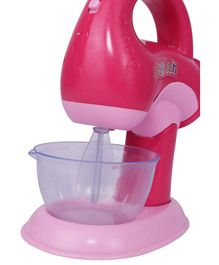 Webby Funny Miniature Mixer Toy With Light - Pink